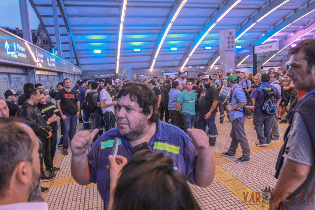 Tras semanas de protestas sin respuesta de Larreta, Metrodelegados profundizarán el plan de lucha