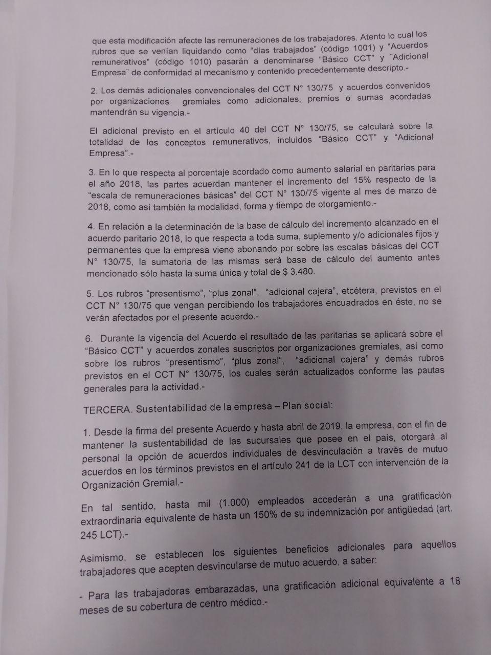 #Exclusivo El acuerdo que convalida la reforma laboral de hecho en Carrefour