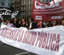 Médicos y judiciales volverán a parar el jueves para reclamarle paritarias a Vidal