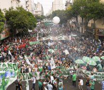 La Multisectorial #21F se prepara para colmar el Obelisco contra el acuerdo con el FMI