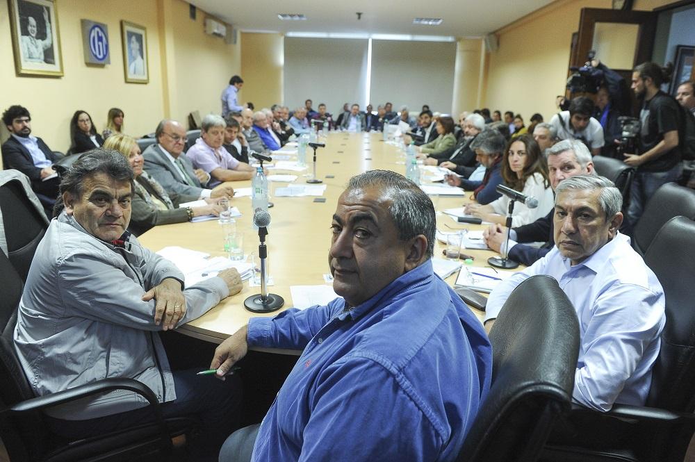 """Pala la CGT, el Gobierno quiere """"demonizar"""" a los gremios"""