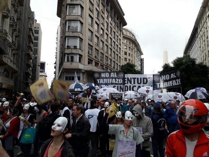 La CGT vuelve a marchar hoy contra los tarifazos y el acuerdo con el FMI