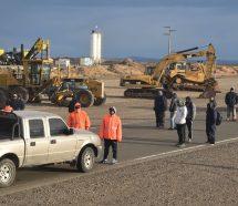 Despedidos de la constructora CPC cortaron la Ruta 3 en reclamo de 8 quincenas adeudadas