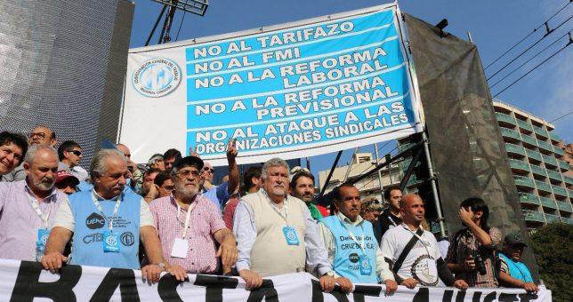 Masiva movilización en Córoba contra Macri y el FMI