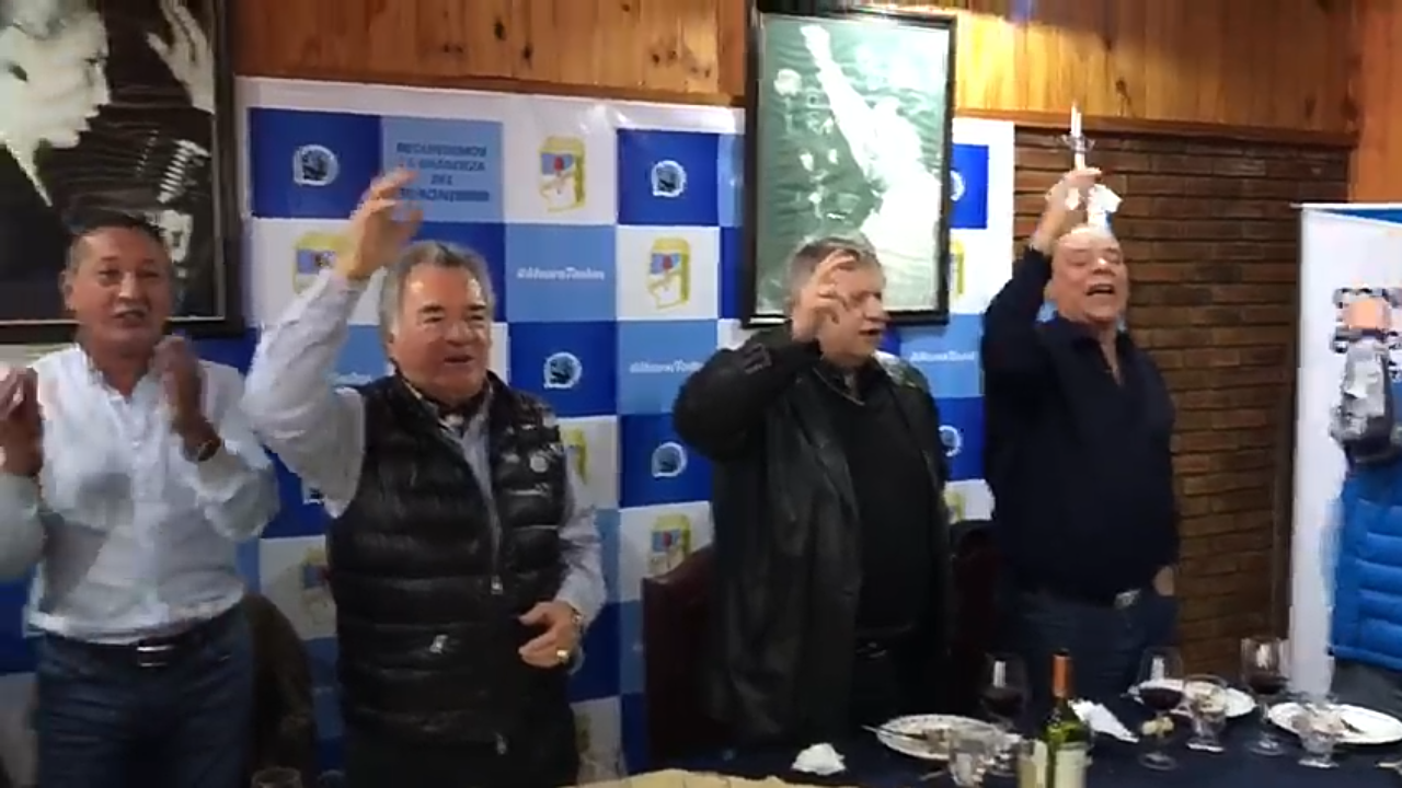 Maturano y Rodriguez se sumaron al plan de Barrionuevo y Moyano para recuperar las 62