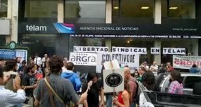 TELAM: La Justicia ordena reinstalar a delegados despedidos