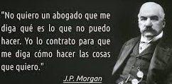 Gobierno Terminado, JP Morgan Conducción