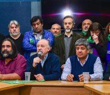 El moyanismo cerró filas con Yasky y Micheli y mañana realizarán su propia demostración de fuerzas