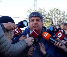 Pablo Moyano amenaza con 72 horas de paro de camiones