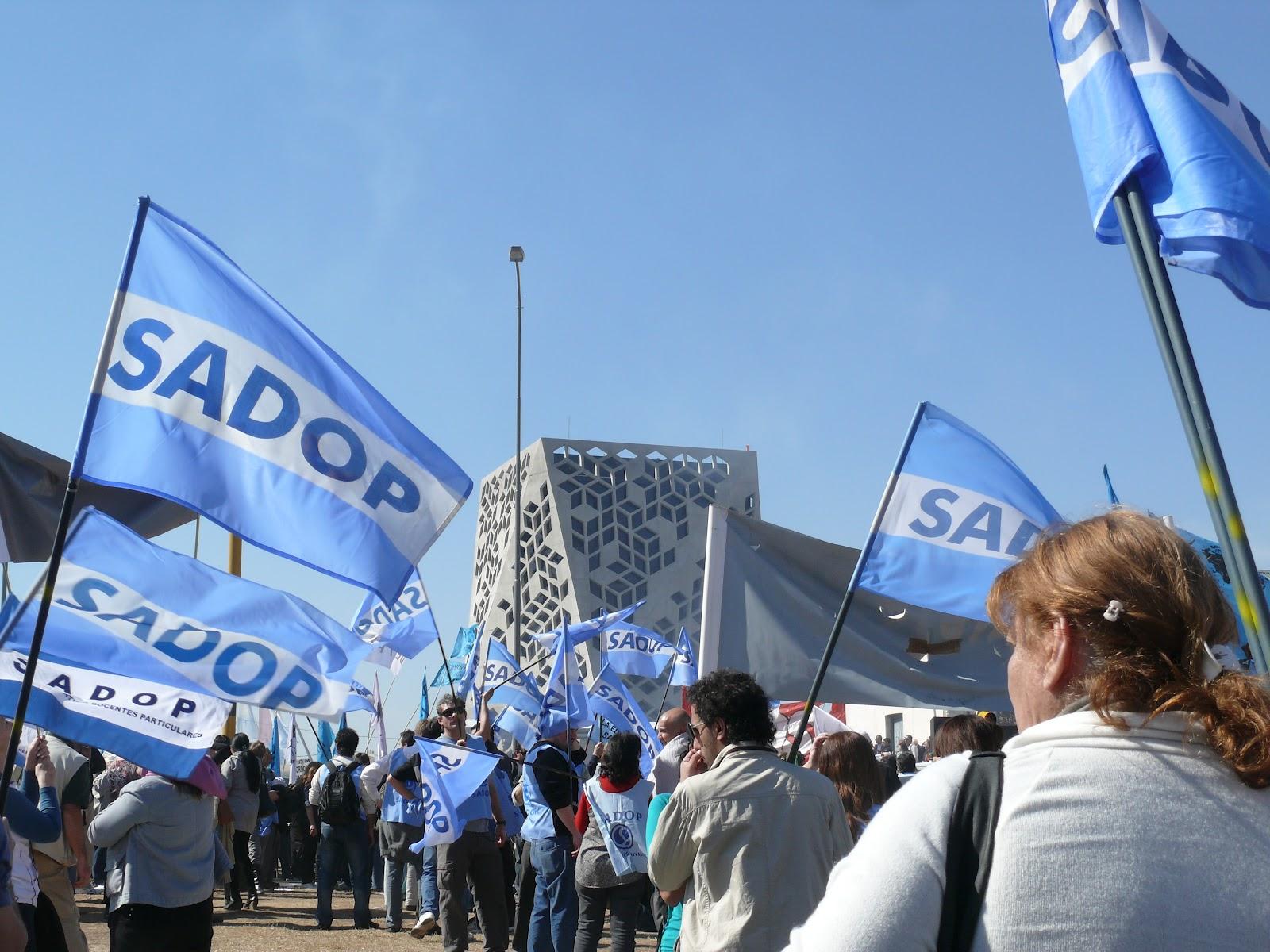 El sindicato de docentes privados se suma, junto a la Corriente Federal, a la movilización del 18 de octubre