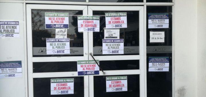 Trabajo dictó conciliación obligatoria a trabajadores de la AFIP