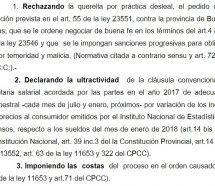 La Justicia obliga a Vidal a aplicar la cláusula gatillo para los docentes