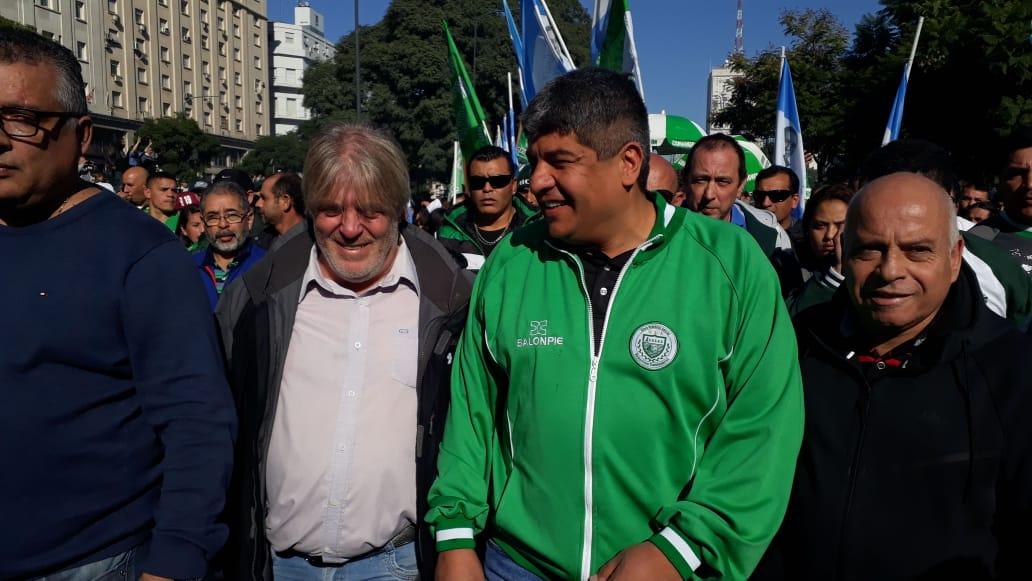 Para Pablo Moyano, el Gobierno quiere intervenir Camioneros «para robarse todo»