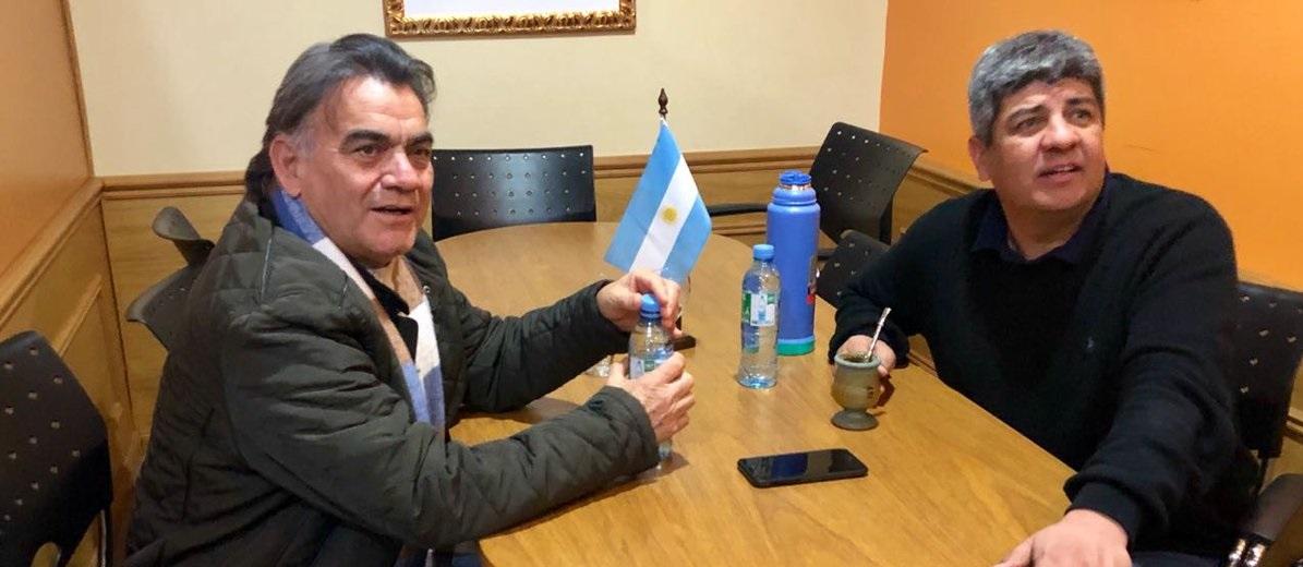Tras varios años de desencuentros, «Barba» Gutierrez y Pablo Moyano sellan unidad
