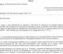 Previsible: Laura Alonso desestimó una denuncia contra Gladys Gonzalez