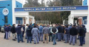 Confirman nueva tanda de más de 30 despidos en Fabricaciones Militares Fray Luis Beltran