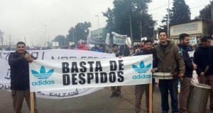 Cerró la planta de Adidas en Esteban Echeverría y despidió todo el personal