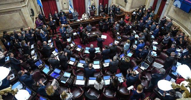 Así votan los Senadores de extracción sindical la legalización del aborto
