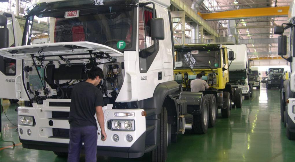 También Iveco dispone suspensiones en su planta fabril