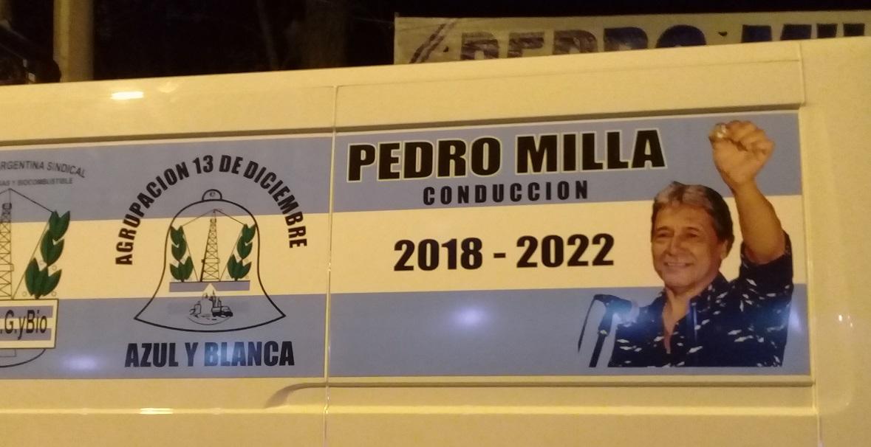 Se adelantan las elecciones y Milla se encamina a ser el nuevo líder de los petroleros