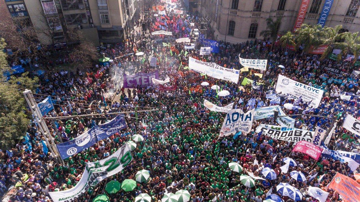 «La gran mayoría de los cordobeses están dándose cuenta que han sido engañados por Macri»