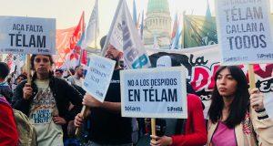 Los despidos en Telam llegan otra vez a la ONU