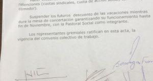 Tras la ocupación del Ministerio, Vidal se comprometió a girar los insumos para que siga funcionando el Astillero Río Santiago
