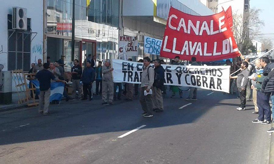 Los mil empleados de Canale hace dos meses no cobran sus salarios
