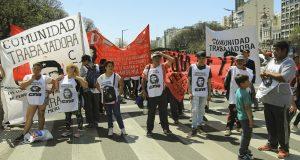 Las organizaciones sociales movilizaron para reclamar empleo