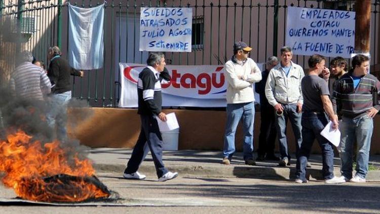 Decretaron la quiebra de Cotagú y cerca de 40 empleados quedan en la calle