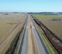 Se paralizó la obra de la autopista que unirá Pilar y Pergamino y hay despidos