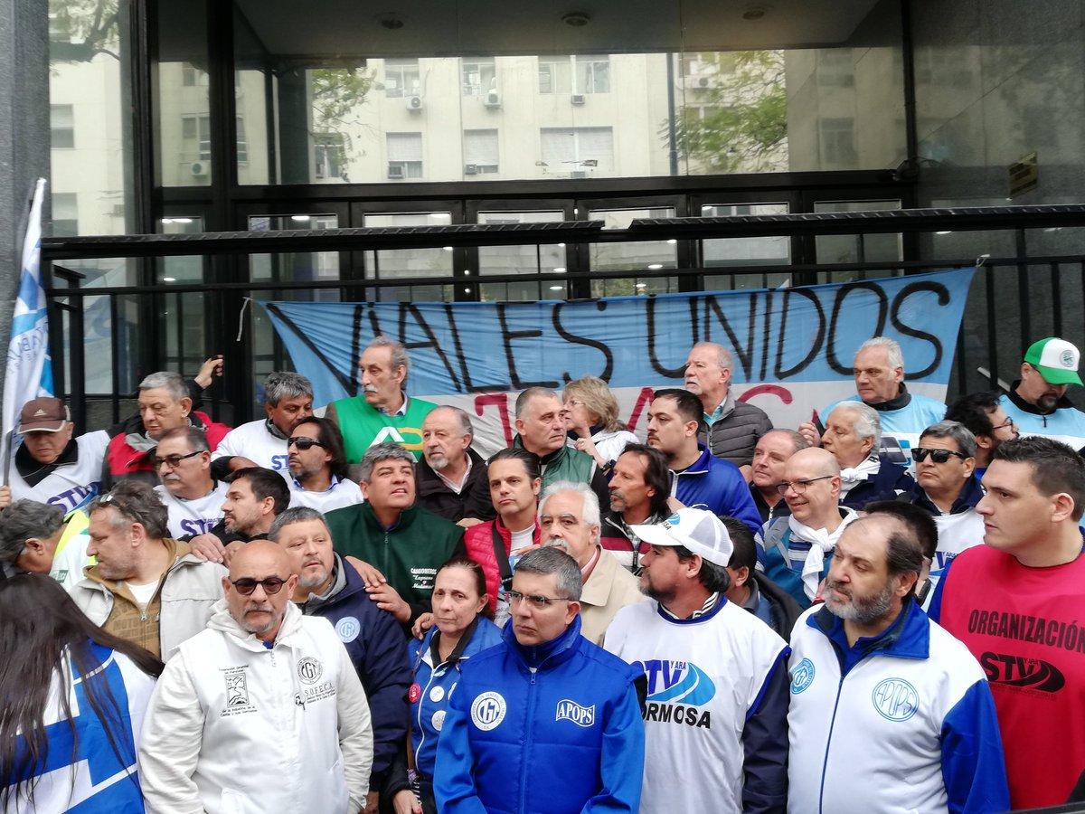Pablo Moyano respaldó el reclamo de los trabajadores de Vialidad y anticipó una protesta por reapertura de paritarias
