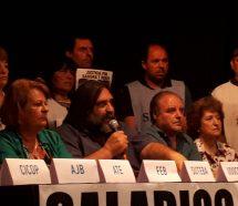 Los docentes le piden respuestas a Vidal y vuelven al paro jueves y viernes