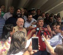 """""""Vamos a movilizar y defender la libertad de los dirigentes sindicales"""""""