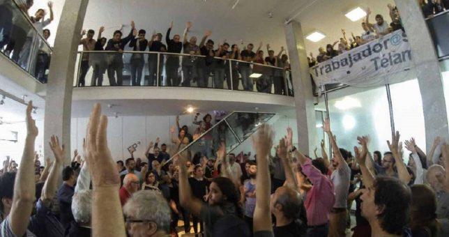 Avanza el proyecto que declara la emergencia en los medios y suspende los despidos en Telam
