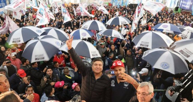 Moviliza la oposición a Cavalieri para que se reabran las paritarias en Comercio