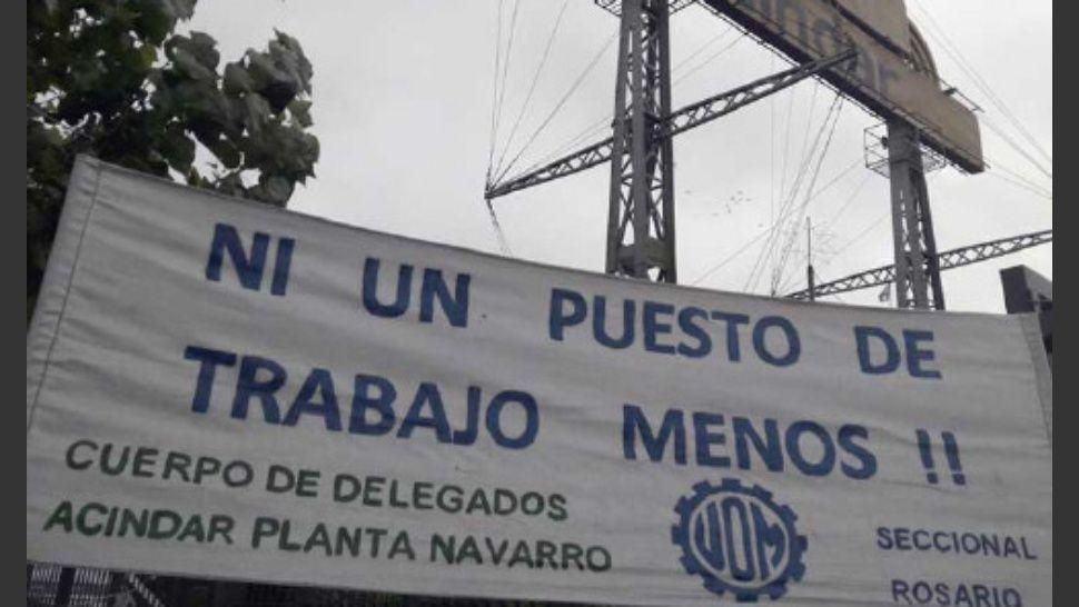 Hubo conciliación en Acindar, pero la UOM advierte que se perdieron 2 mil empleos en el polo industrial rosarino