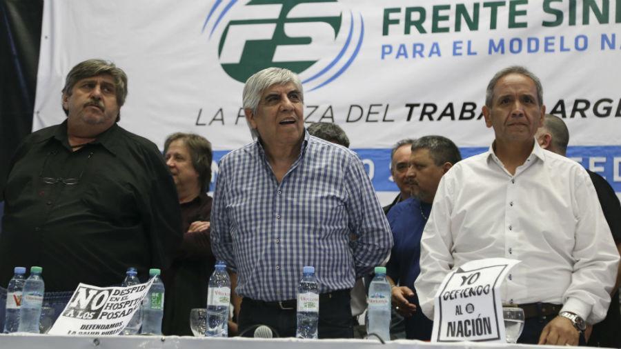 El Frente Sindical respaldará a los trabajadores de Aerolíneas Argentinas y se tensa la relación con el Gobierno