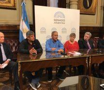 """Pablo Moyano le pidió a los senadores que no voten el presupuesto y calificó de """"traidor"""" a Miguel Pichetto"""