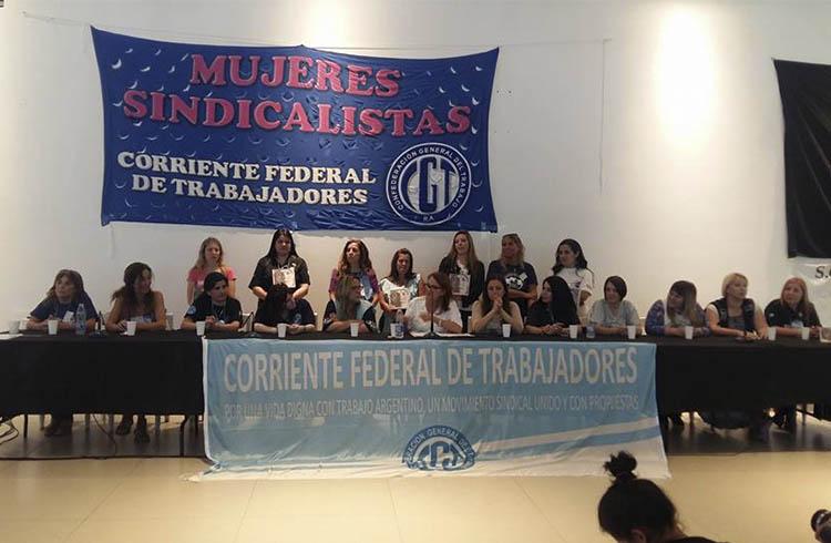 Crece el espacio y se realizará el Tercer Encuentro Nacional de Mujeres Sindicalistas