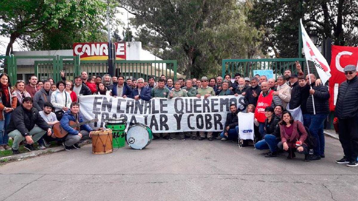 Le otorgan la custodia de la planta Lavallol de Canale a los despedidos
