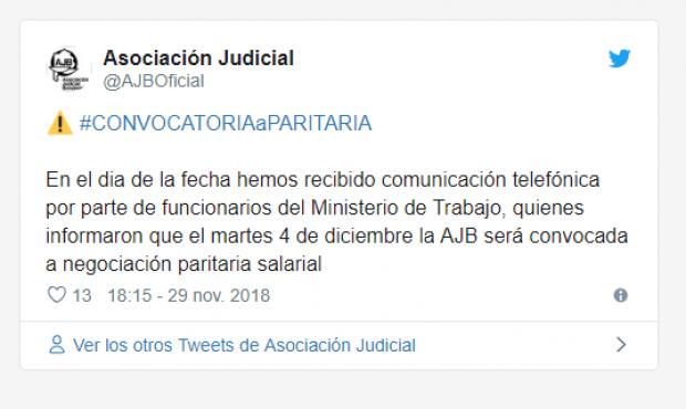 Luego de más de 6 meses de silencio, Vidal volvió a convocar a los Judiciales a discutir salarios
