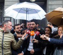 """Para Facundo Moyano, el que """"plantea dos oposiciones está jugando"""" para Macri"""