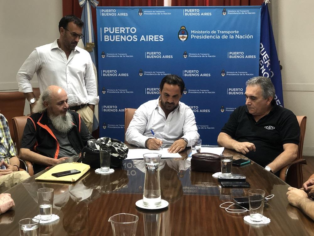 Gremios lograron una clásula antidespidos en la licitación del puerto de Buenos Aires