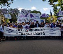 Aeronavegantes movilizan a Plaza de Mayo y denuncian la creación de gremios low cost
