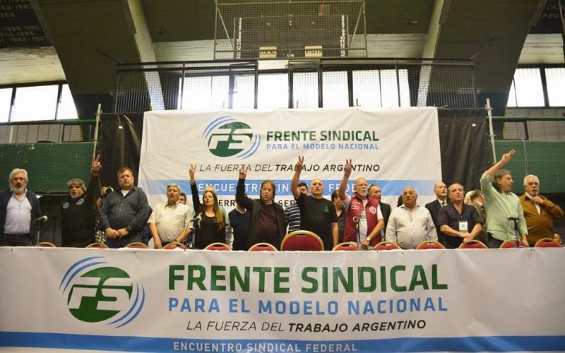 El Frente Sindical movilizará para pedir un aumento a los jubilados y la derogación de la Reforma Previsional