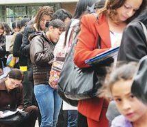 Dos de cada tres nuevos desocupados son mujeres