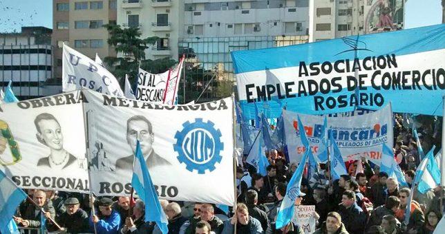 Gremios rosarinos le piden a la CGT que lance un paro ya contra la reforma laboral