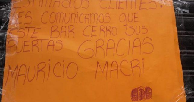 """Cerró """"Los Compañeros"""", otro histórico bar porteño que no resistió a la crisis"""