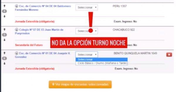 Larreta bloqueó la inscripción online a las escuelas nocturnas y los docentes se encaminan a no iniciar las clases